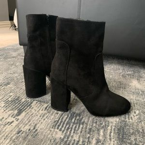 💛Forever 21 black booties💛